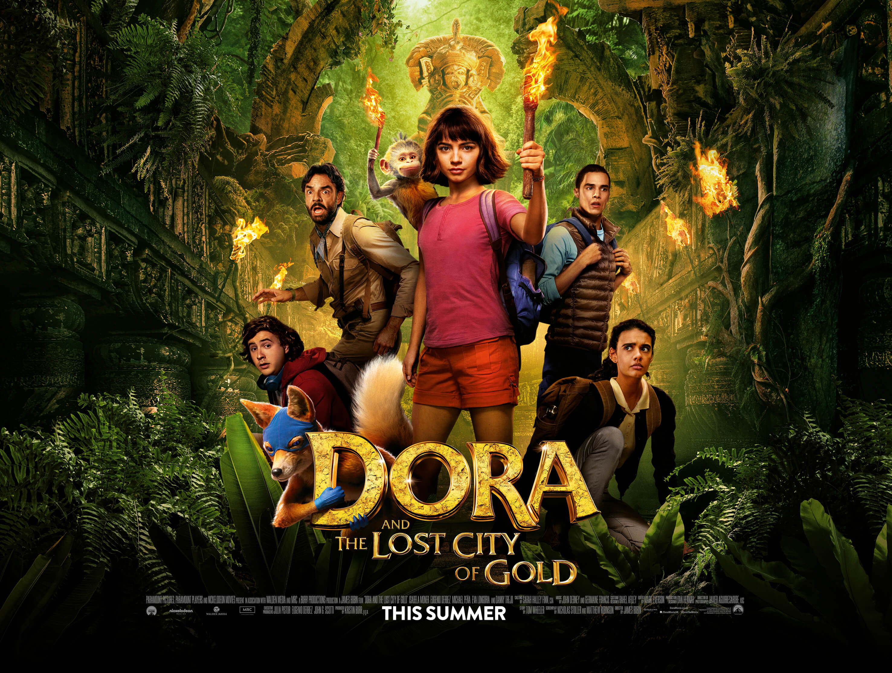 Dora And The Lost City Of Gold: Book Now at The Light