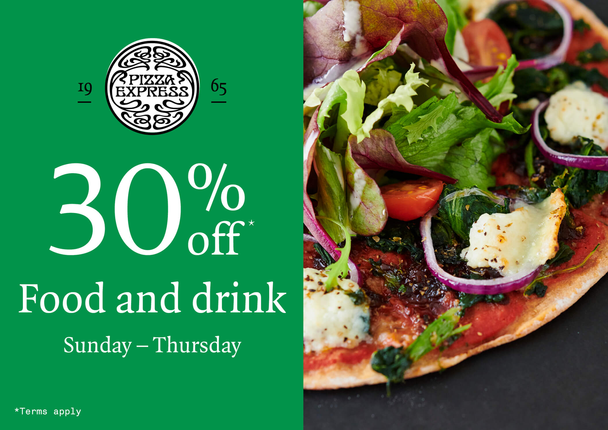 30 Off This January At Pizza Express The Broadway Bradford